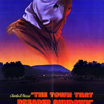 The Town That Dreaded Sundown 27x40 Movie Poster (1977)