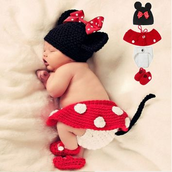 Baby Mini Mouse Outfit