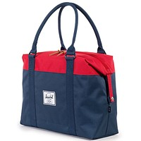 Strand Duffle Bag in Navy and Red by Herschel Supply Co.