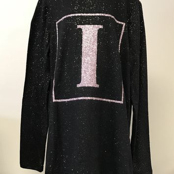"Justice Girl's Sparkle ""I"" Long Sleeve Shirt"