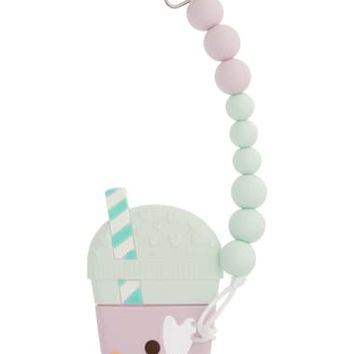 Loulou Lollipop Taro Teething Toy & Holder (Baby) | Nordstrom