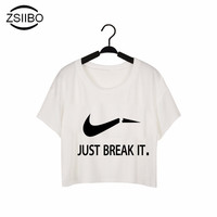 ZSIIBO DIY227 Women Fashion Casual O Neck Short Sleeve Printed Ladies T-shirt Hamburg Chips Best Friends Sexy Tops