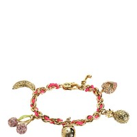 Fruity Charm Bracelet by Juicy Couture