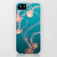 Underwater Flames iPhone Case by Young Swan Designs | Society6