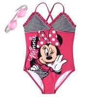 Disney's Minnie Mouse One-Piece Swimsuit - Girls
