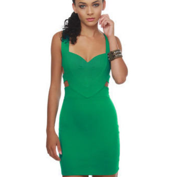 Dance Remix Emerald Green Dress - $39.00 : Fashion Shop By Color at LuLus.com