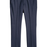 Wool Suit Pants Skinny fit - from H&M