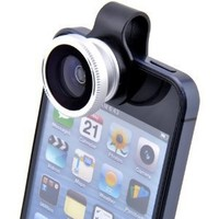VicTsing® Clip-on Fish Eye Fisheye Lens Photo Kit For iPhone 4 4G 4S Galaxy S2 S3 SIII Note 2 II i9300