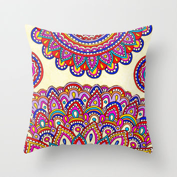 Enlightenment Throw Pillow by PeriwinklePeacoat