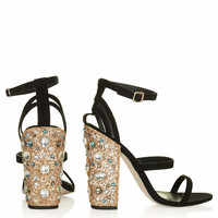 ROYALTY JEWELLED HEELS