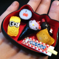 Hello Kitty Sushi Surprise Ring by MegEMays on Etsy