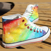 Colorful canvas shoes / 025