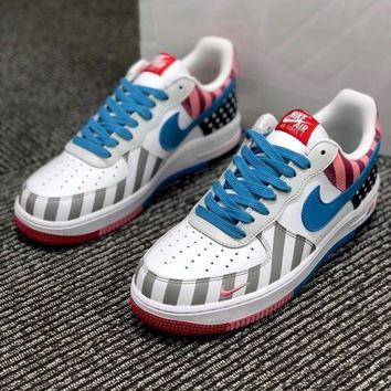 Parra x Nike Air Force 1 Low White Multi - Best Deal Online
