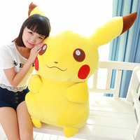 Large Stuffed Pikachu Plush Pokemon