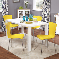 Simple Living 5-piece Felix Dining Set | Overstock.com Shopping - The Best Deals on Dining Sets