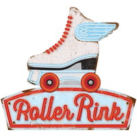 Roller Rink Wall Decal