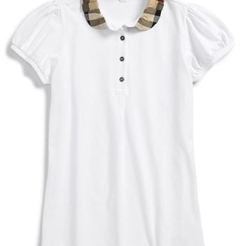 Girl's Burberry Polo,