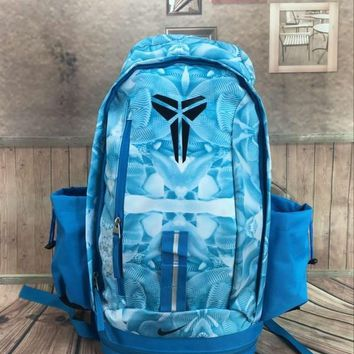 PEAP Nike Fashion Kobe Leisure Sports Travel Backpack Blue