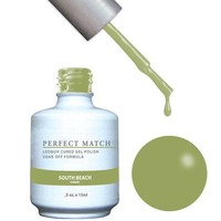 LeChat Perfect Match Gel / Lacquer Combo - South Beach 0.5 oz - #PMS144