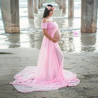 Gown Pregnant Women Photography Prop Clothing Long Dress Portrait Skirt Hot Sale - Walmart.com