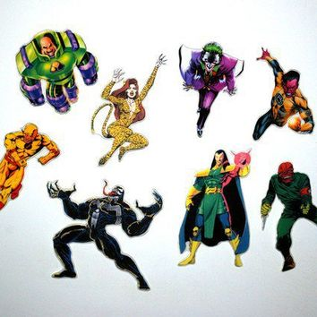 Super villain magnet set