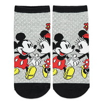 Mickey and Minnie Ankle Socks