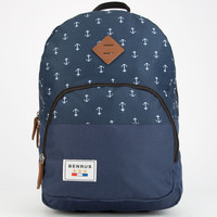 Benrus Bulldog Backpack Navy Combo One Size For Men 25416821101