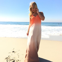 Life's a Beach Ombre Maxi Dress