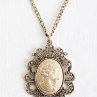 French Timelessly Charming Necklace by ModCloth