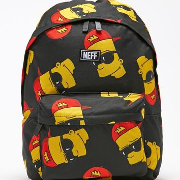 Neff - The Simpsons Bart Steeze School Backpack - Mens Backpacks - Multi - One