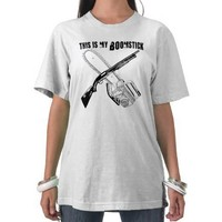 Chainsaw and Boomstick Tshirt from Zazzle.com