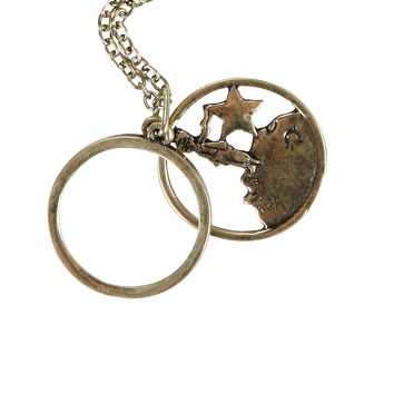 The Little Prince Star Monocle Necklace