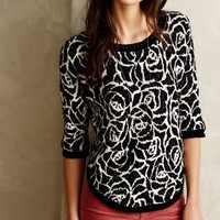 Halfeti Rose Pullover by Moth Black Motif