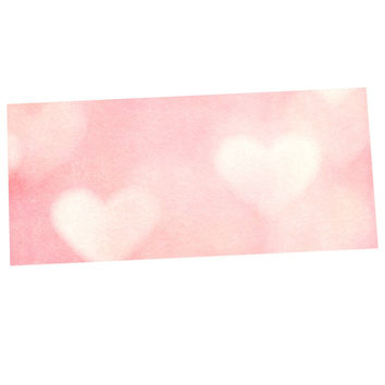 "Heidi Jennings ""Love is in the Air"" Pink Desk Mat"