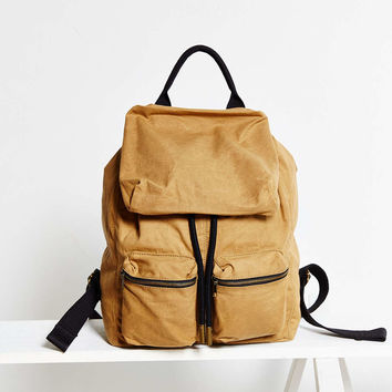 UO Canvas Army Backpack - Urban Outfitters