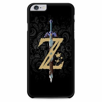 The Legend Of Zelda Breath Of The Wild Z Logo iPhone 6 Plus / 6S Plus Case