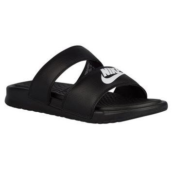 Nike Benassi Duo Ultra Slide - Women's at Lady Foot Locker
