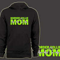 Border Collie Mom Green