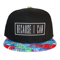 Blue Graffiti Snapback