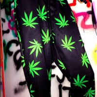 SWEET LORD O'MIGHTY! THA OG MARIJUANA SWEATPANTS