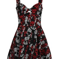 Rockabella Storm Skull Dress