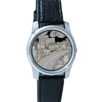 The City Life | Line Art Wrist Watch