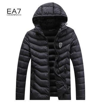 Boys & Men Armani Fashion Casual Cardigan Jacket Coat