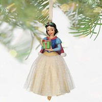 Licensed cool NEW 2013 Disney Store Princess SNOW WHITE Sketchbook Christmas Ornament Dwarfs