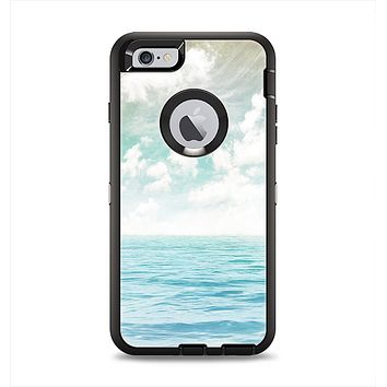 The Paradise Vintage Waves Apple iPhone 6 Plus Otterbox Defender Case Skin Set