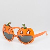 NPW Halloween Pumpkin Novelty Glasses