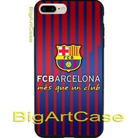Best New Hot Barcelona FC Print On Hard Plastic Case Cover iPhone 7 and 7 plus
