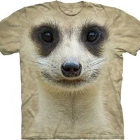 Meerkat Face Wild Animal The Mountain Youth Kids Child T-Shirt
