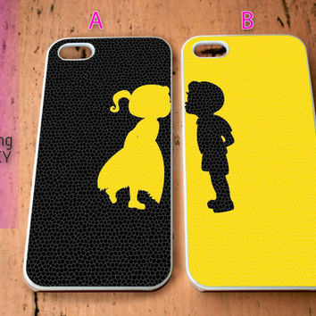 Artwork Cute Couple for iPhone 4 / 4S / 5 / 5S / 5C Case, Samsung Galaxy S3 / S4 / S5 case