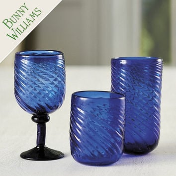 Bunny Williams Cobalt Glassware